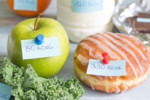 contare le calorie